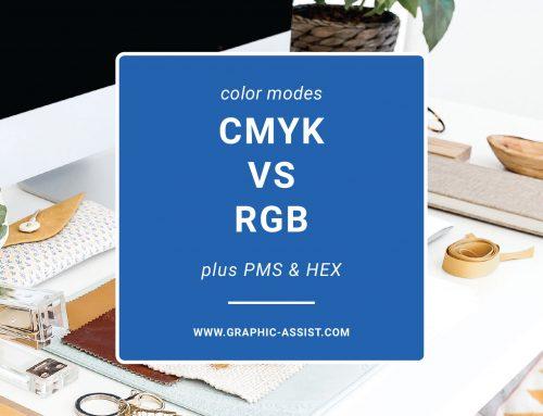 Color Modes: CMYK vs RGB