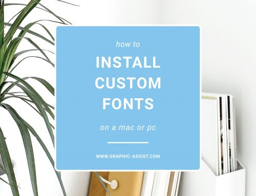 How to Install Custom Brand Fonts